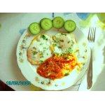 Лeгкий завтрак из яиц