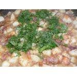 Картофель с тушенкой по-белорусски