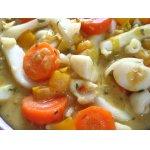 Овощное   карри   с   кальмарами