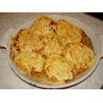 Картофельные веера с сыром
