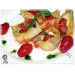 Кончильони с сыром и помидорами