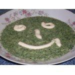 Рисовая кашка со шпинатом