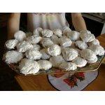 Кексы в белом шоколаде и кокосе