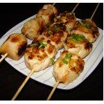 Курица по-японски на шпажках