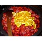 Варенье из клубники с апельсинами