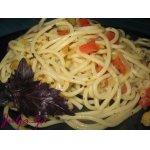 Спагетти с кабачками и цветной капустой