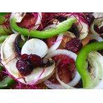 Салат   из   помидоров   со   свежими   шампиньонами