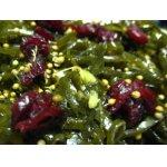 Маринованная   морская   капуста   с   клюквой