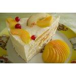 Торт со сметанным суфле и фруктами