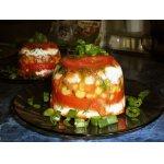 """Закуска с сыром """"Solanum melongena"""""""