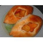 Открытые пирожки с абрикосами