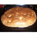 Кабачковый хлеб с сыром и специями