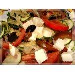 Салат из цуккини с оливками