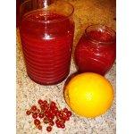 Желе из красной смородины с апельсинами