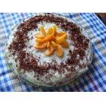 Быстрый торт из заварного крема