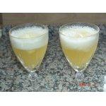 Ананасный пунш с шампанским