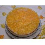 Освежающий персиковый торт