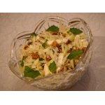 Салат из кольраби с яблоком и грецкими орехами
