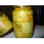 Салат из кабачков на зиму 2