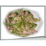 Салат  с курицей  и  огурцами  по-вьетнамски