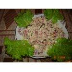 Салат из редиски с мясом