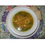Чечевичный суп с копчeной индейкой