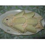 Салат рыбный с икрой мойвы