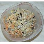Салат из баклажанов с корейской морковью