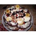 Пряничный тортик с бананами
