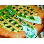 Изумрудный творожный пирог