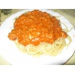 """Спагетти под соусом """"Болоньез"""""""