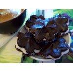Шоколадное печенье к кофе