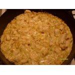 Филе куриной грудки в луково-сливочном соусе