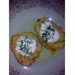 Драники картофельные с белыми грибочками