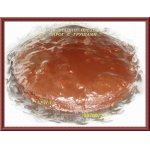 Шоколадно-ореховый пирог с грушами