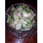 Салат из баклажан «фальшивые грибочки»
