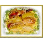 Медово-пряная курица в сидре