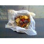"""""""Пергаментные пакетики""""с мясом и овощами"""