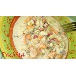 Овощи, маринованные в медово-сметанном соусе
