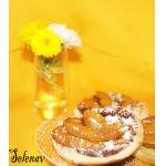 Слоеные тарталетки с шоколадом и нектаринами