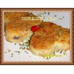"""Картофель с грибами и сыром, запеченный под соусом """"бешамель"""""""