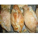 Свиная корейка с рисом и яйцами