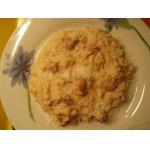 Рис с колбаской и грибами или со вкусом грибов