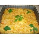 Запеканка картофельно-тыквенная  с сыром