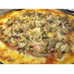 """Пицца """"Ветчина и грибы"""""""