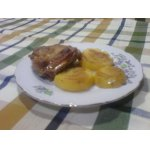 Куриное бедро с картофелем