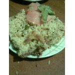 Закусочный пирог с курицей и овощами