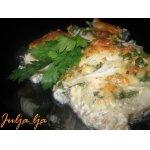 Сочная рыбка под сырно-горчичной корочкой