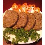 Домашняя печеночная колбаска