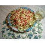 Изысканый салат с жареной грушей